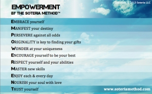 Empowerment by The Soteria Method™